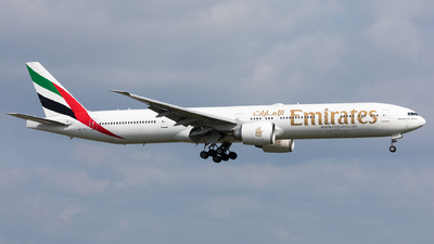 A picture of A6EGJ - Boeing 77731H(ER) - Emirates - © Sierra Aviation Photography