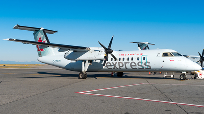 C-GNON - Bombardier Dash 8-301 - Air Canada Express (Jazz Aviation)