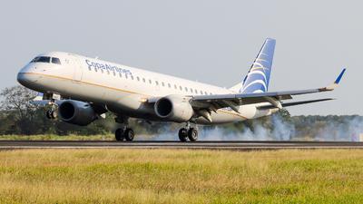 A picture of HP1557CMP - Embraer E190AR - [19000034] - © Alexis Navarro