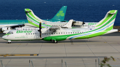 A picture of ECIYC - ATR 72500 - [0709] - © Jos� Hern�ndez Le�n