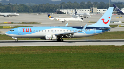 A picture of DATUJ - Boeing 7378K5 - TUI fly - © Michael Stempfle