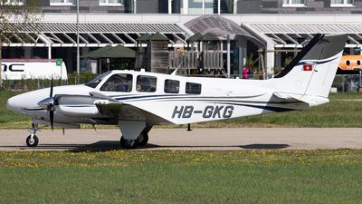 A picture of HBGKG - Beech G58 Baron - [TH2369] - © Alexandre Fazan