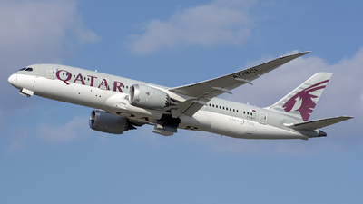 A picture of A7BCI - Boeing 7878 Dreamliner - Qatar Airways - © András Soós