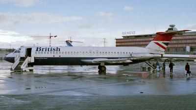 G-AVMX - British Aircraft Corporation BAC 1-11 Series 510ED - British Airways