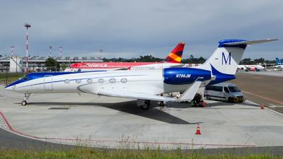 N786JM - Gulfstream G-V - Private