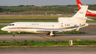 B-8211 - Dassault Falcon 7X - Yalian Business Jet