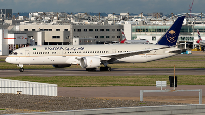 A picture of HZAR22 - Boeing 7879 Dreamliner - Saudia - © Flying no nozomi