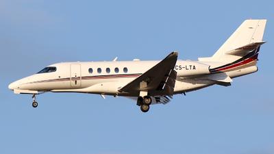 A picture of CSLTA - Cessna 680A Citation Latitude - NetJets - © wroblik75