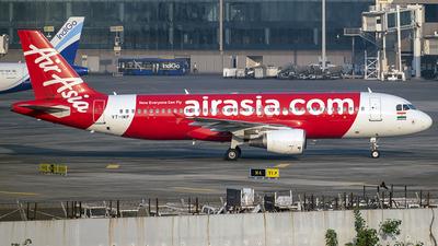 A picture of VTIMP - Airbus A320216 - AirAsia - © Sanskar nawani