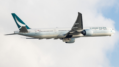 B-KPR - Boeing 777-367ER - Cathay Pacific Airways