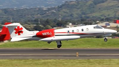 N81GJ - Bombardier Learjet 36A - Private