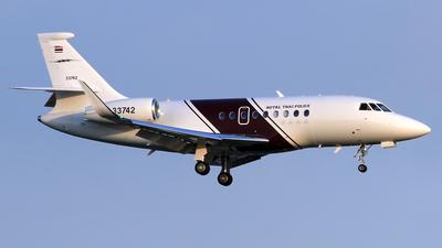 33742 - Dassault Falcon 2000S - Thailand - Royal Thai Police Wing