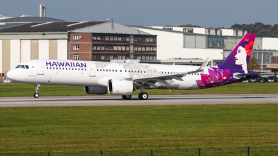 D-AYAF - Airbus A321-271N - Hawaiian Airlines