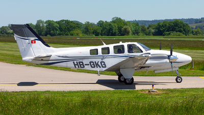 A picture of HBGKG - Beech G58 Baron - [TH2369] - © Alex