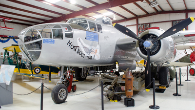 N7687C - North American B-25J Mitchell - Cavanaugh Flight Museum