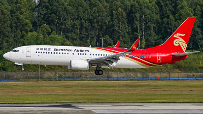 A picture of B1476 - Boeing 73787L - Shenzhen Airlines - © Jhonson541