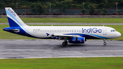 VT-IEG - Airbus A320-232 - IndiGo Airlines