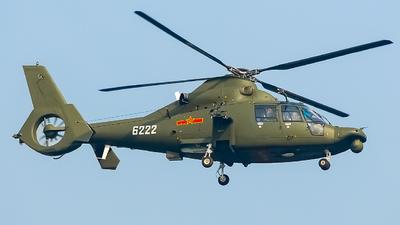 6222 - Harbin Z-9WA - China - Air Force
