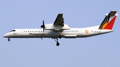 A picture of RPC5902 - De Havilland Canada Dash 8400 - Philippine Airlines - © Christian Isaac C. Apolinario