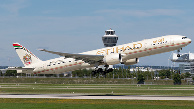 A6-ETM - Boeing 777-3FXER - Etihad Airways