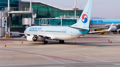 A picture of HL8240 - Boeing 7378BK - Korean Air - © Ksavspotter