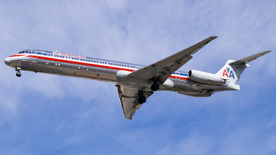 N486AA - McDonnell Douglas MD-82 - American Airlines