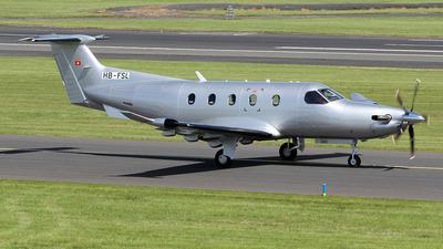 A picture of HBFSL - Pilatus PC12/47E -  - © Ian Howat