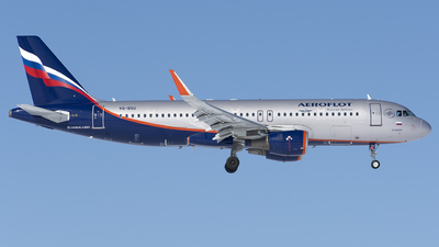A picture of VQBSU - Airbus A320214 - Aeroflot - © SN7756