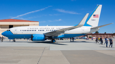 05-4613 - Boeing C-40C - United States - US Air Force (USAF)