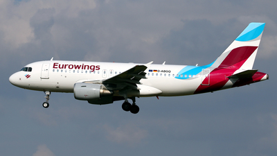 D-ABGQ - Airbus A319-112 - Eurowings