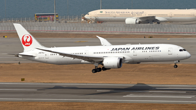 A picture of JA874J - Boeing 7879 Dreamliner - Japan Airlines - © eyey328