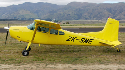 ZK-SME - Cessna 185A Skywagon - Private