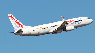 A picture of ECIDT - Boeing 73786Q - Air Europa - © Rui Sequeira