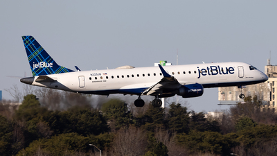 A picture of N229JB - Embraer E190AR - JetBlue Airways - © JinZi