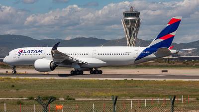 PR-XTB - Airbus A350-941 - LATAM Airlines