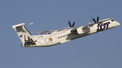 A picture of SPEQK - De Havilland Canada Dash 8400 - LOT - © Rafal Pruszkowski