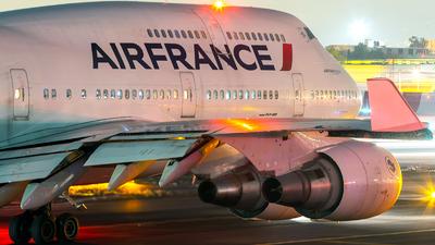 F-GITE - Boeing 747-428 - Air France