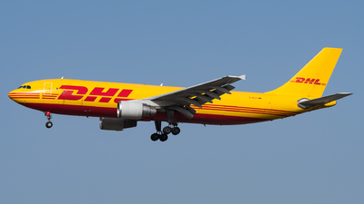 A picture of DAEAT - Airbus A300B4622R(F) - DHL - © Julian Mittnacht
