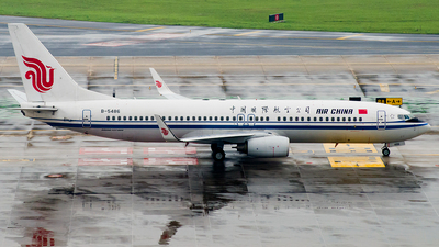B-5486 - Boeing 737-89L - Air China