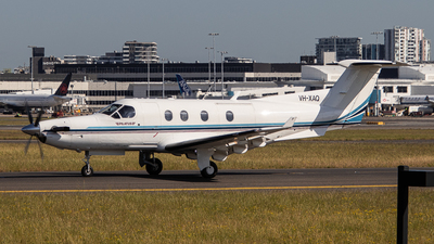 VH-XAQ - Pilatus PC-12/45 - Private
