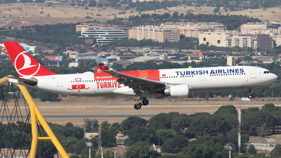 A picture of TCLND - Airbus A330303 - Turkish Airlines - © Guille Gª del Alamo