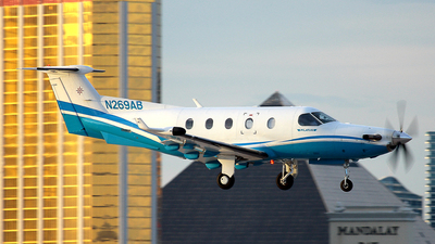 N269AB - Pilatus PC-12/45 - Private