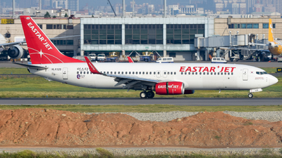 HL8325 - Boeing 737-8FZ - Eastar Jet