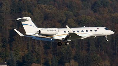 RA-10205 - Gulfstream G650 - Private