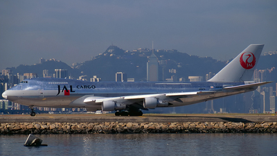 JA8180 - Boeing 747-246F(SCD) - JAL Cargo