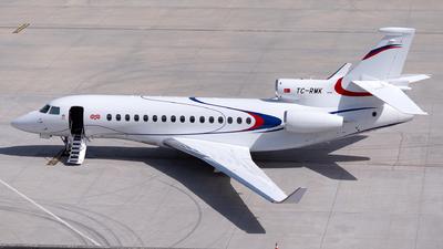 TC-RMK - Dassault Falcon 8X - Set Air
