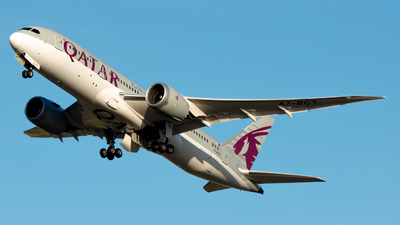 A picture of A7BCT - Boeing 7878 Dreamliner - Qatar Airways - © srmark