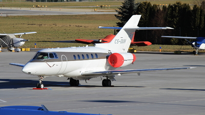 CS-DUH - Raytheon Hawker 750 - NetJets Europe