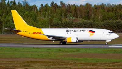 G-JMCX - Boeing 737-406(SF) - West Atlantic Airlines