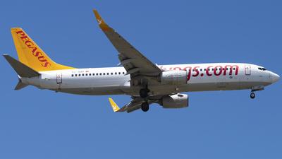 A picture of TCAZP - Boeing 73782R - Pegasus Airlines - © Furkan Borakazi